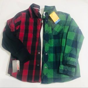 Boys bundle shirts size 7X Hawk and Sonoma brands
